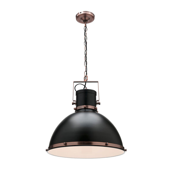 Tonic large pendant black
