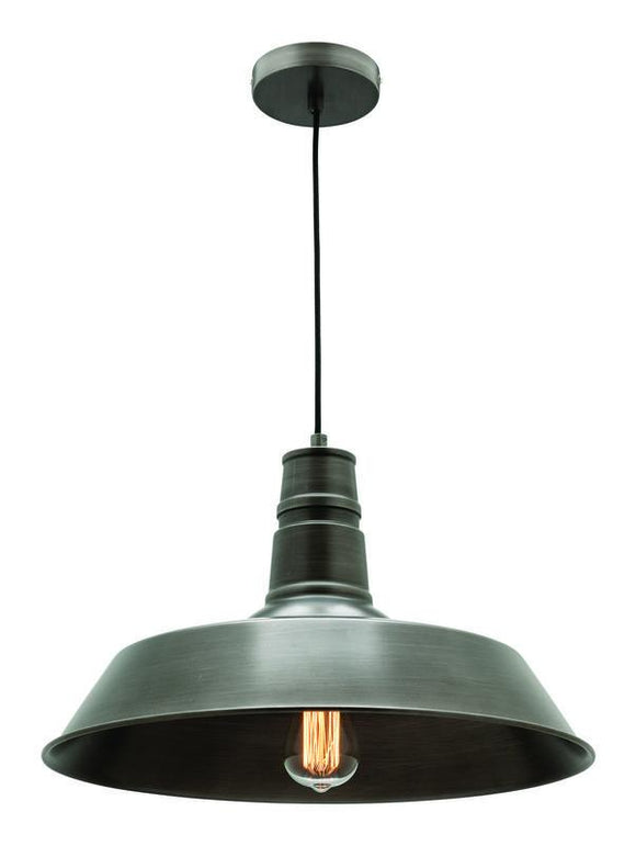 Corby small pendant grey