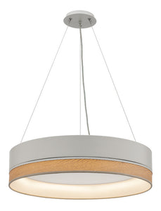 Fitzgerald 24W LED pendant dimmable white