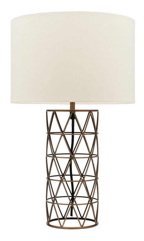 Vanessa table lamp brass