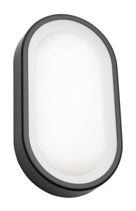 Arena 9W LED exterior oval grey