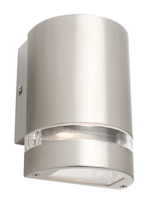 Hastings 1 light GU10 exterior wall bracket with globe