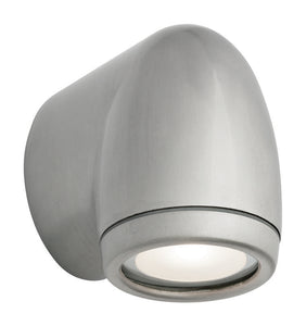 Pipe 6W GU10 LED wall exterior brushed chrome