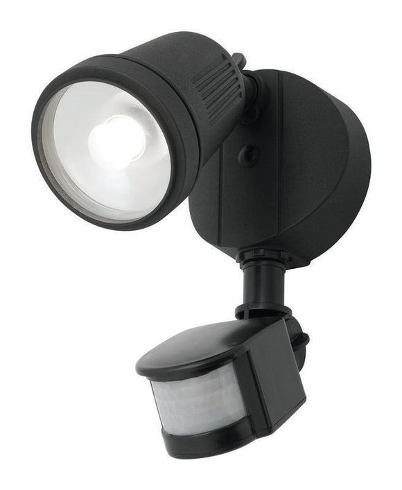 Otto 1x12W LED floodlight with sensor black