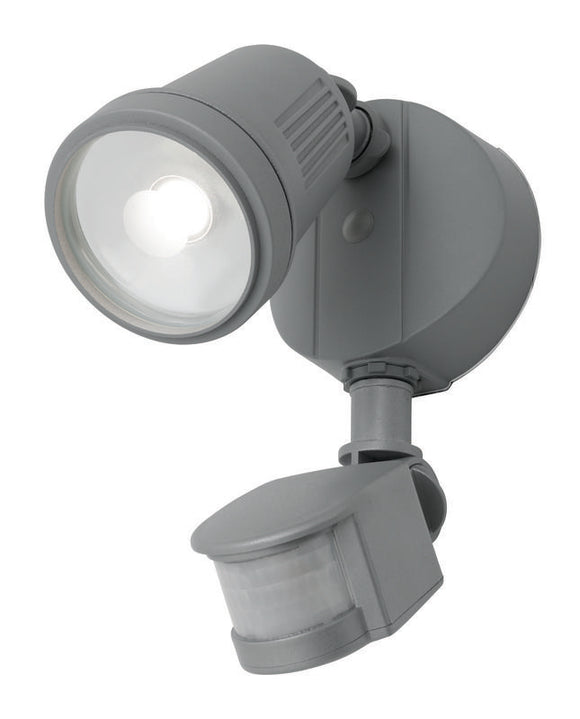 Otto 1x12W LED floodlight with sensor silver