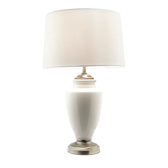 Marie table lamp cream