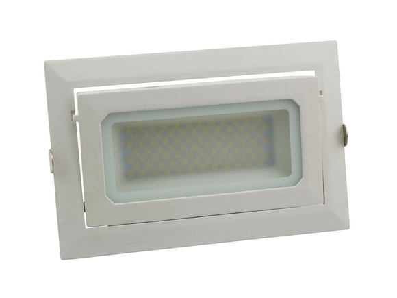 Epic 40W daylight 6000K rectangular shopfitter