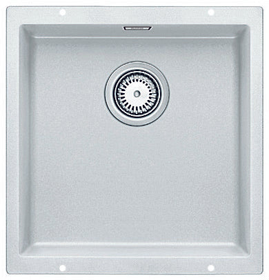 Blanco SUBLINE400UWK5 white single bowl undermount sink