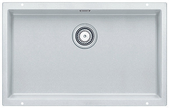 Blanco SUBLINE700UWK5 white single bowl undermount sink