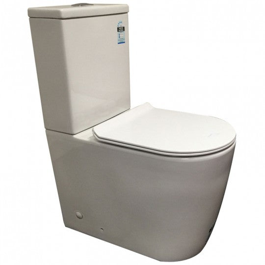 Tradeworld Ivy Ceramic BTW S Trap Suite With Soft Close Seat