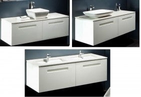 Argent Lucent 1400 and stone top x 1 counter top basin
