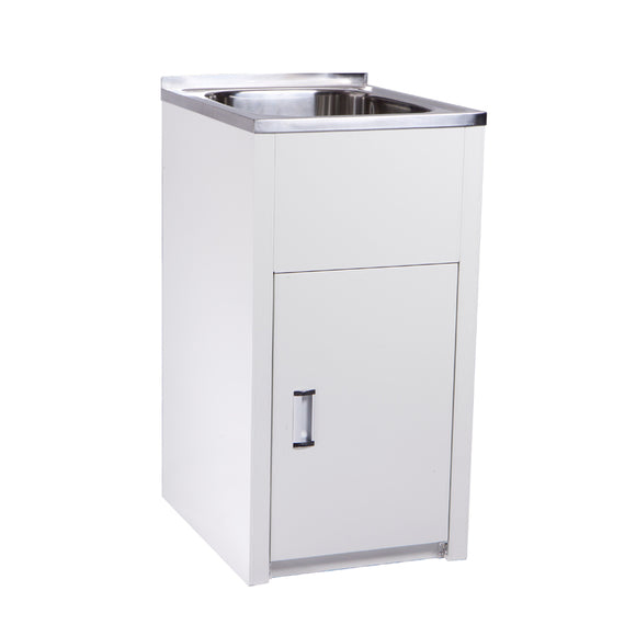 P&P Compact Laundry Tub and Cabinet YH235L