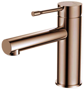 Argent Flow Basin Mixer Rose Gold
