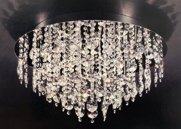Epic B3096-16B Style Crystal Ceiling Eco LED Light