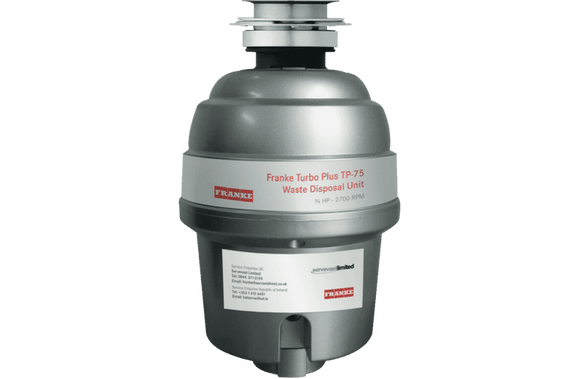 Franke Turbo Plus TP-75 Waste Disposal Unit