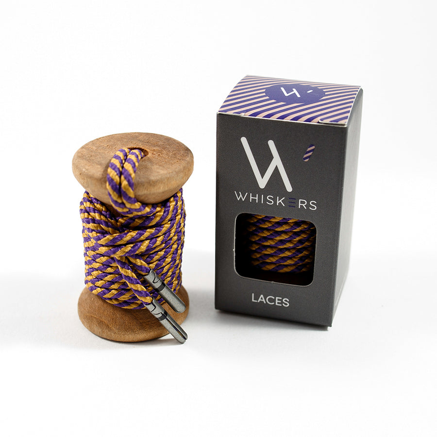 Purple Gold Striped Whiskers 33