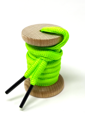 Solid Neon Green Athletic Sneaker Laces