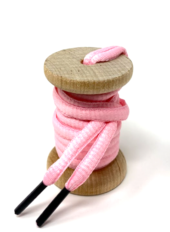 Solid Pink Athletic Sneaker Laces