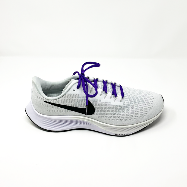 Solid Purple Athletic Sneaker Laces 1