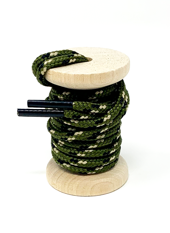 Olive, Sand & Black (Camo) Boot Laces