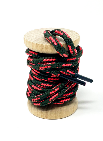 Forest Night & Guava Boot Laces
