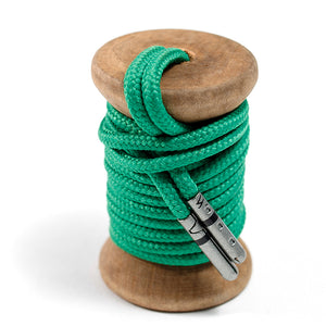 Solid Green Dress Laces