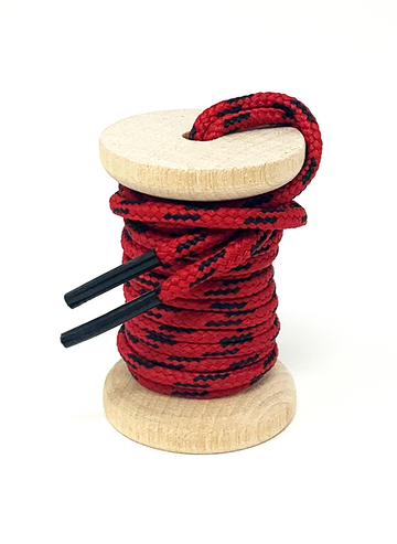 Red & Black Boot Laces