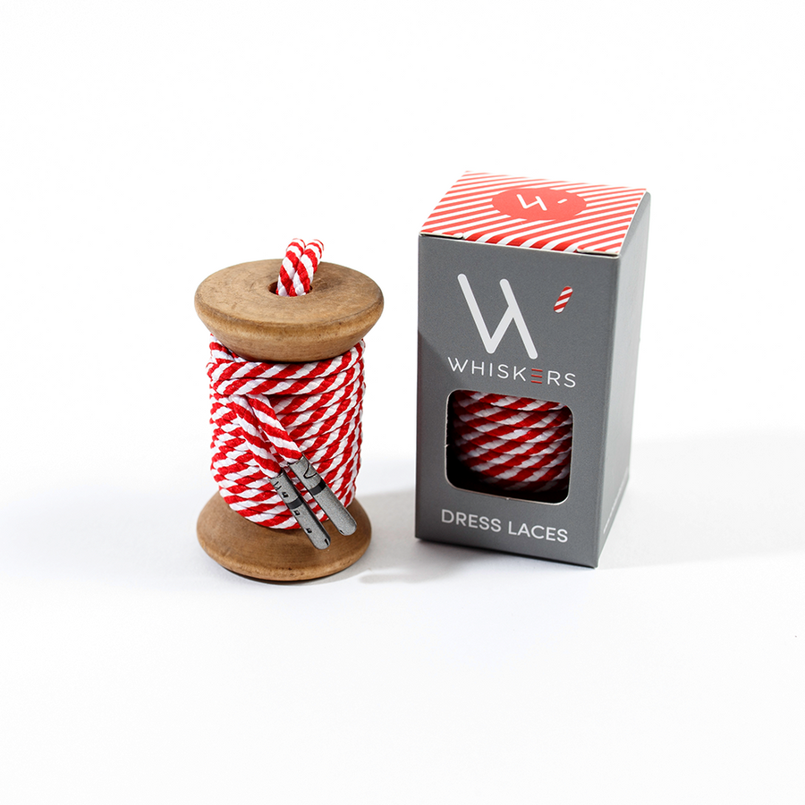 Red & White Striped Whiskers 33