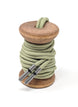 Solid Sage Dress Laces 1