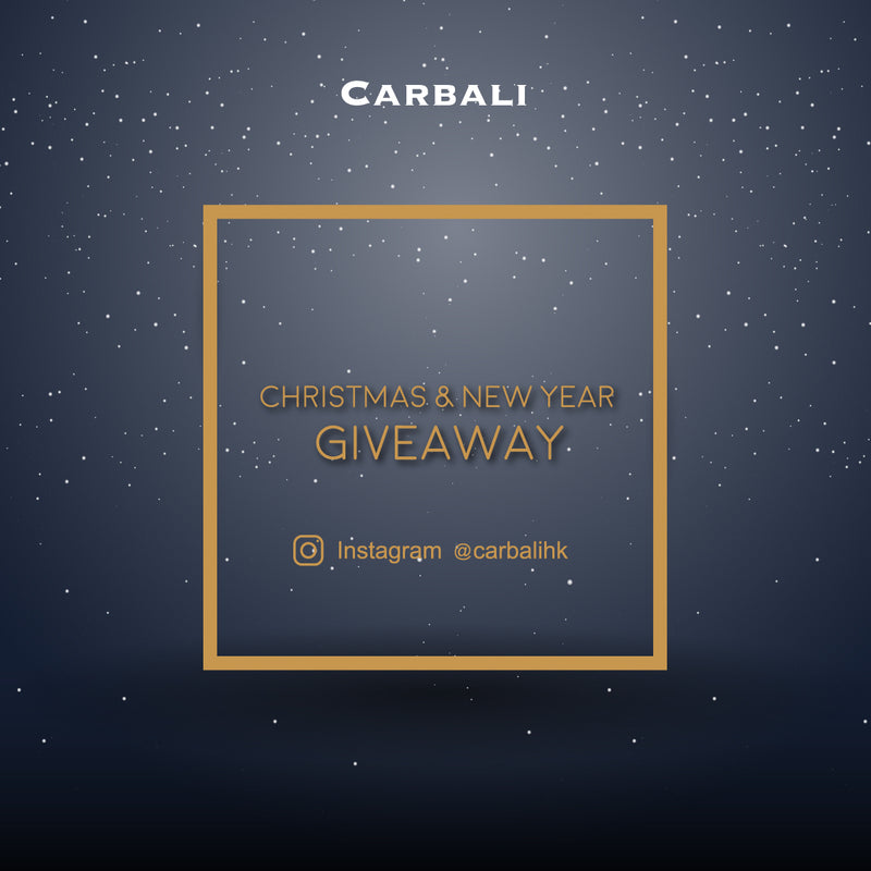 Amazing Giveaway happening on the Carbali HK IG