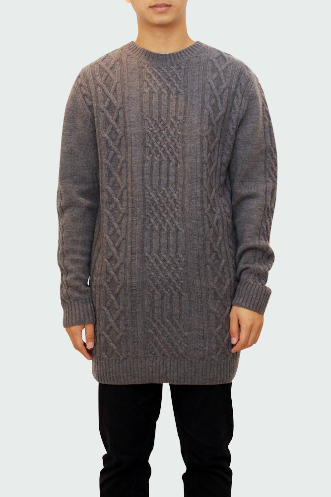 Knitted Crew-Neck Sweater