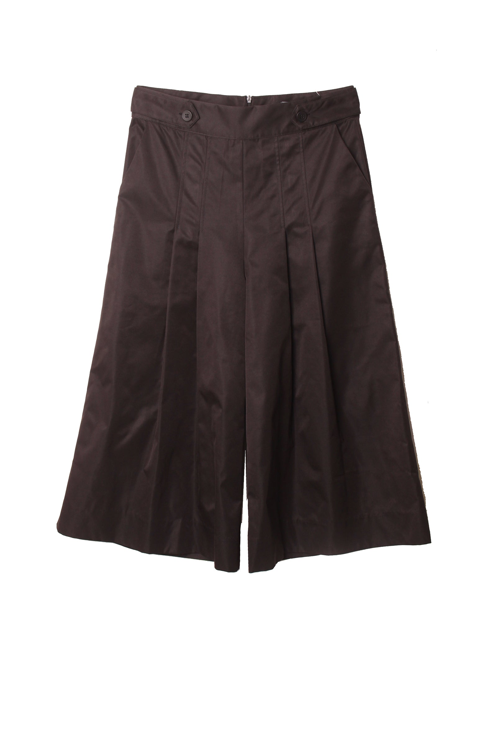 Vintage wide leg trousers with pleat detail
