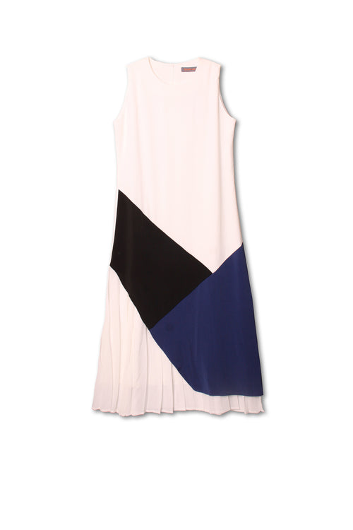Fashion patchwork tank dress