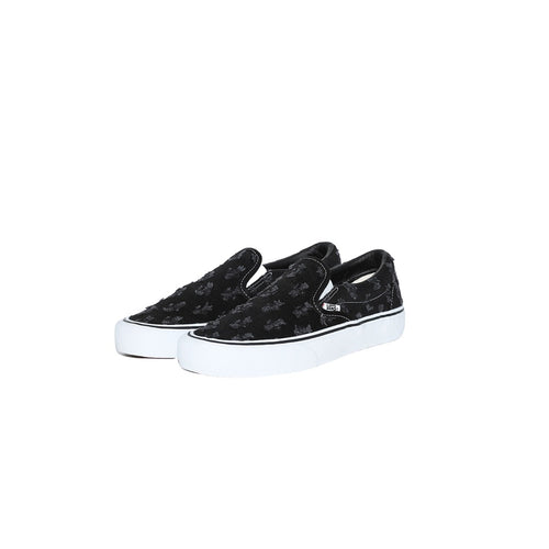 Supreme / Vans Hole Punch Denim Slip-On Pro