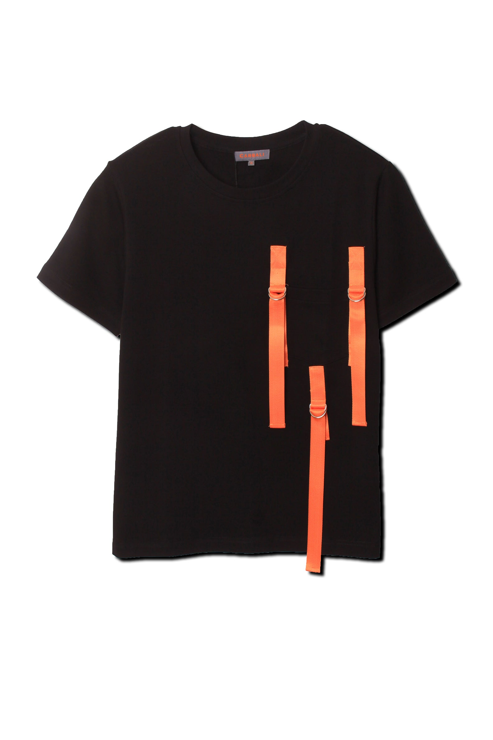 Fashion ribbon pocket tee