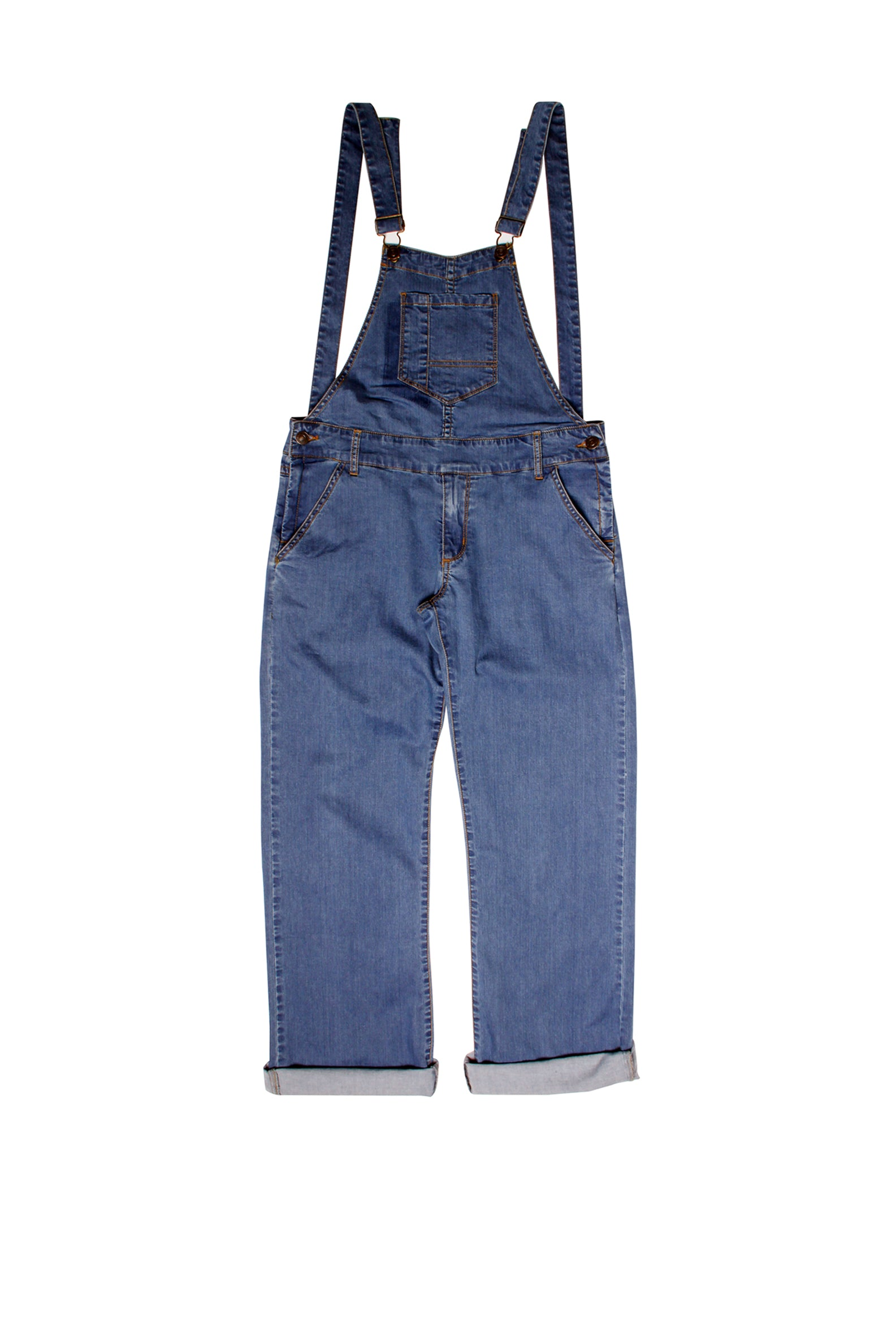 Overall Denim Long Dungree