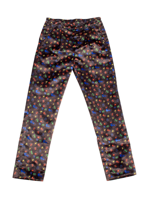 Leopard Collection Skinny Trousers