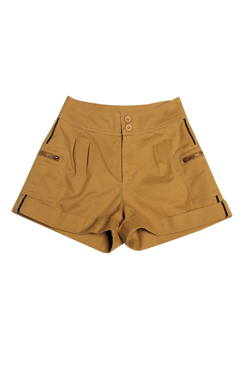 Tailored A-Line Shorts