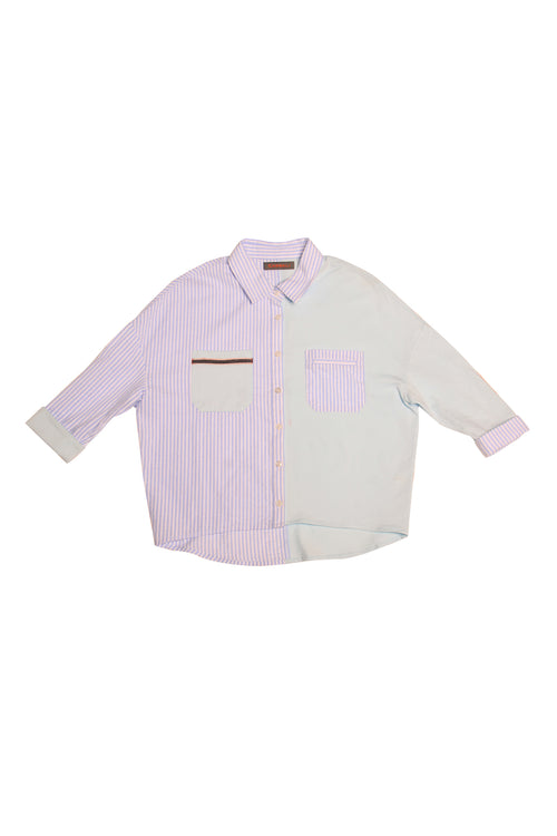 Spring-Summer Shirt Collar Long Sleeve Shirt
