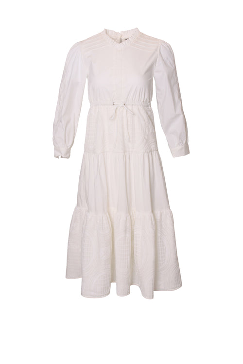 Vintage Ruffle Hem Dress