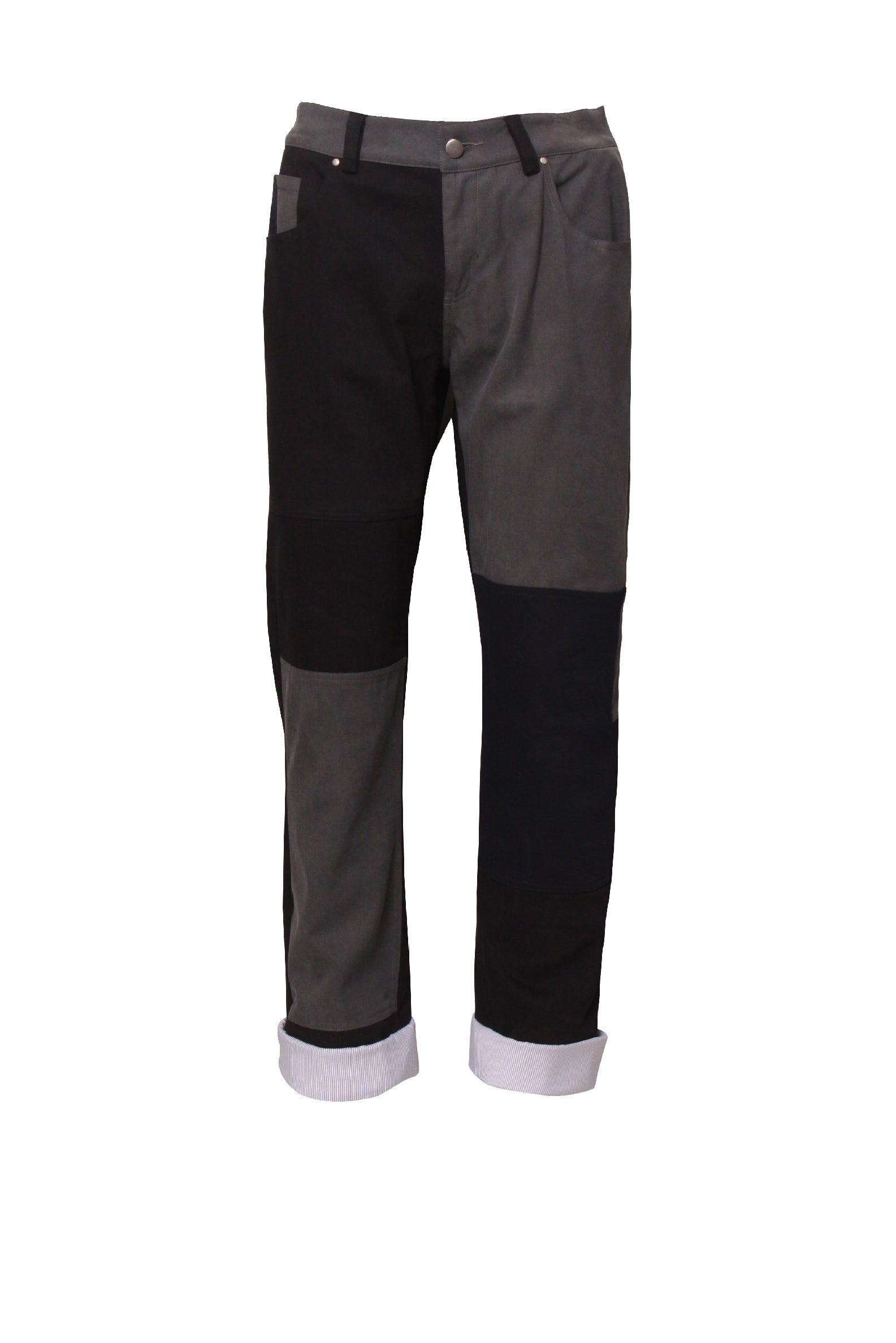 Patchwork Chino Pants