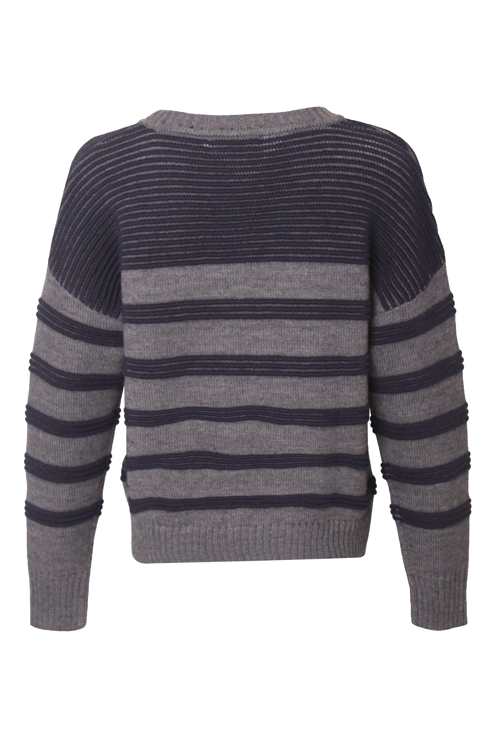 Strip Knitted Sweater