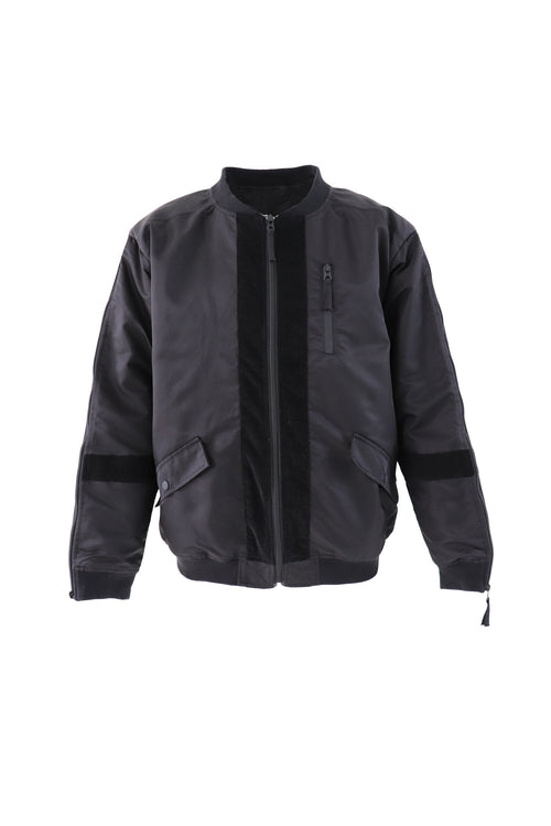 Carbali bomber jacket in black