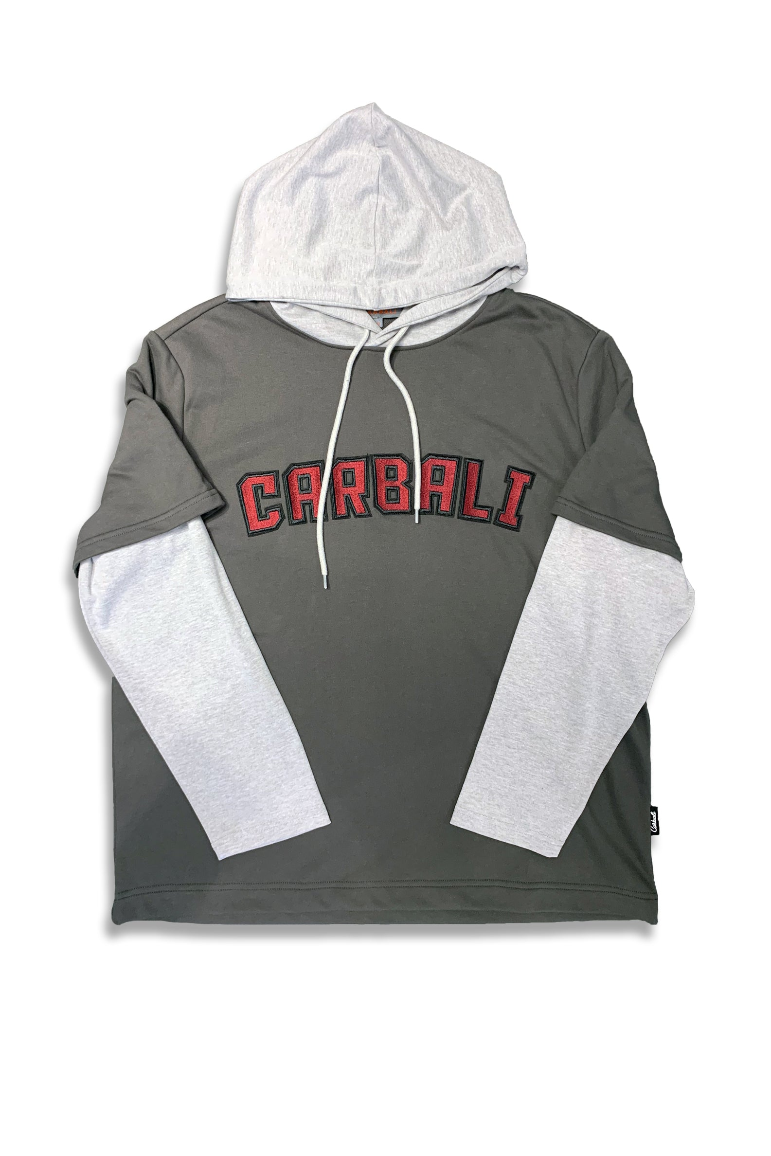 Oversized Hoodie With Carbali Embroidery