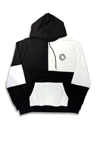 Carbali Colorblock Hoodie With Logo Print