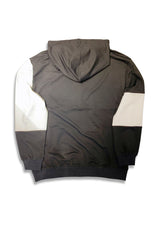 Carbali Colorblock Hoodie In Black/White
