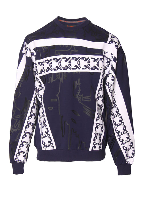 New Look Sweatshirt with Geometric Print