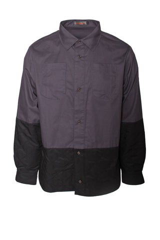 Long Sleeved Shirts With Patch work