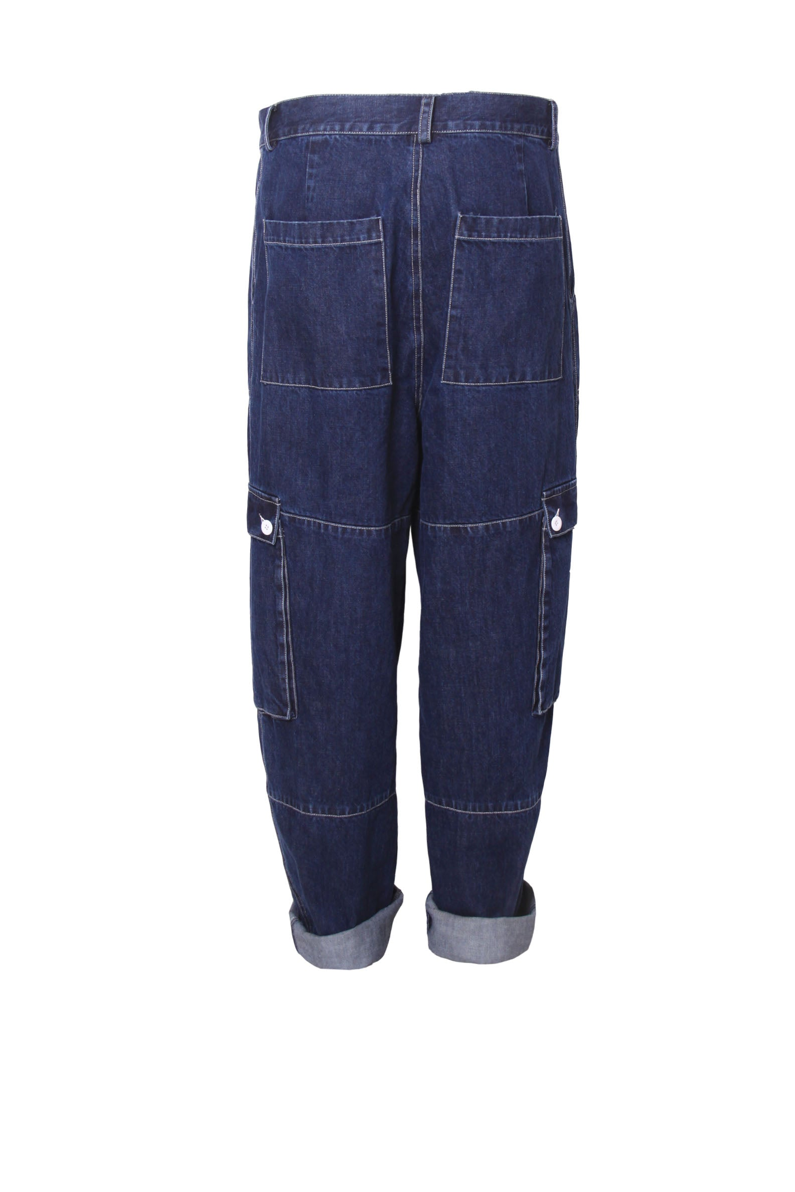 Worker Big Pocket Oversized Jeans