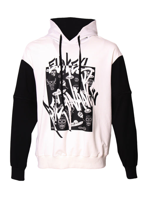Day of the dead graphic hoodie